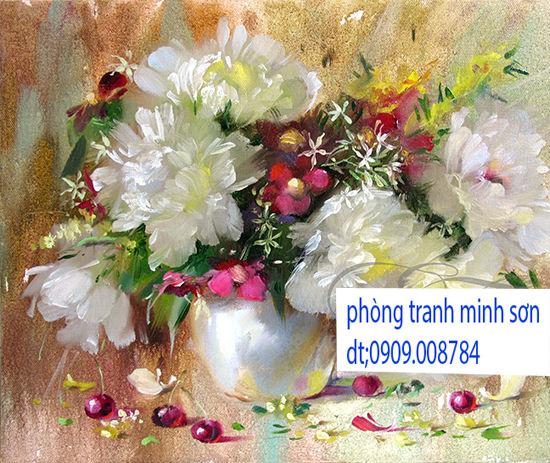 tranh hoa 60x60