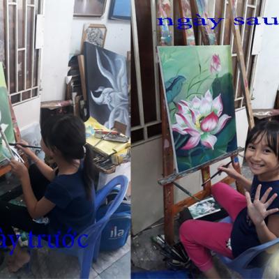 học vẽ tranh