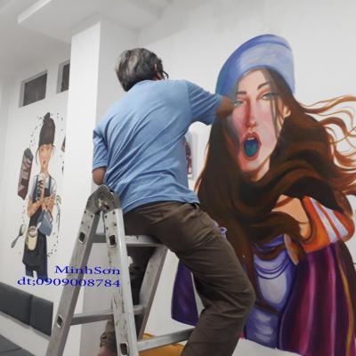 thợ vẽ tranh