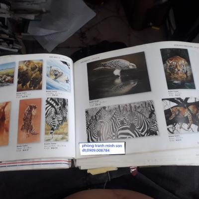 tranh vẽ con vật
