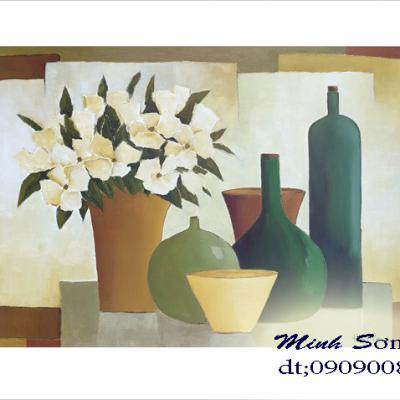 tranh hoa tĩnh vật 40x50
