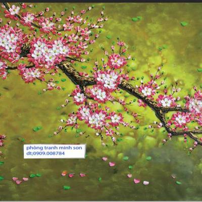 Vẽ hoa mai hoa đào ngày tết
