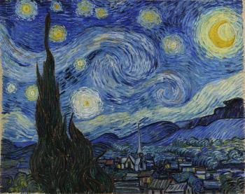 Starry Night (Đêm đầy sao) – Vincent Van Gogh