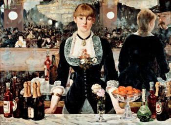 Edouard Manet - Quầy rượu Folies-Bergère