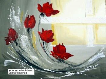 tranh hoa tang tri 40x50