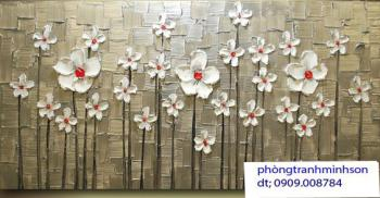 hoa vẽ bay dáp nổi