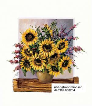 hoa hướng dương 40x50