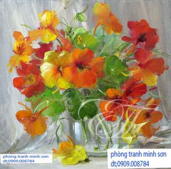 tranh hoa